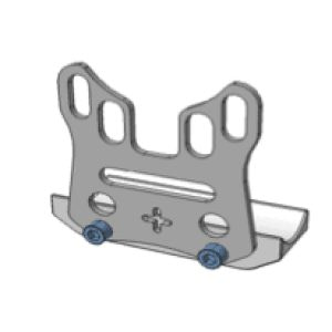 UNIVERSAL BRAKE DISK PROTECTOR KIT axle lock
