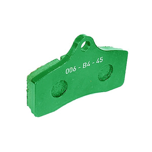 STR-V2 FRONT BRAKE PAD GREEN (2 pieces) OPTIONAL SS