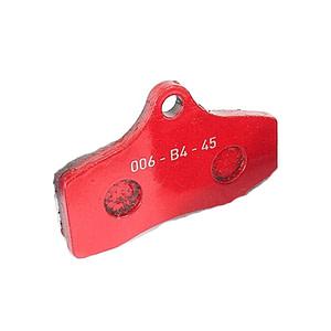 STR-V2 FRONT BRAKE PAD RED (2 pieces)