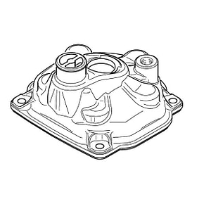 CYLINDER HEAD COVER - THERMOSTAT TYPE (SILVER)