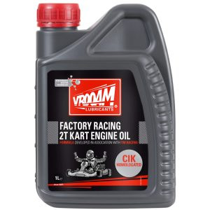 VROOAM Factory Racing 2T Kart Castor Engine Oil CIK FIA - 1L