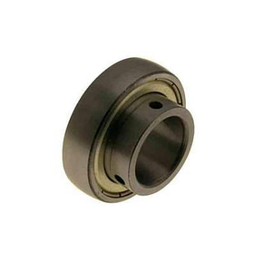 AXLE BEARING Ø40X80MM with grub screws for Ø40mm axle