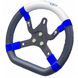 "PRAGA ""M5 R"" SERIES  STEERING WHEEL OVAL HANDLE 330mm"