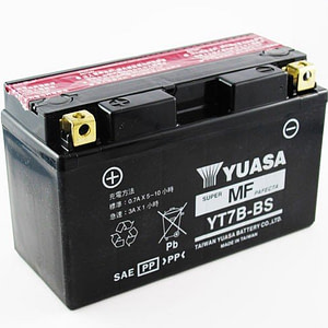 "BATTERY YUASA"" WITH ACID PACK"""