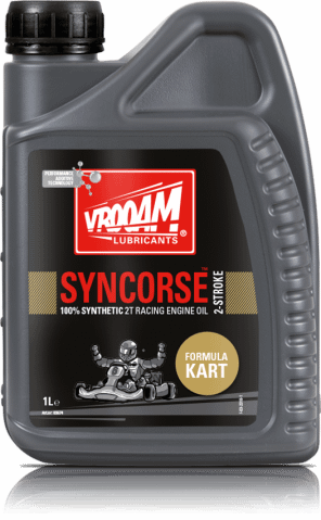 VROOAM 100% Synthetic 2T Racing Engine Oil - 1L