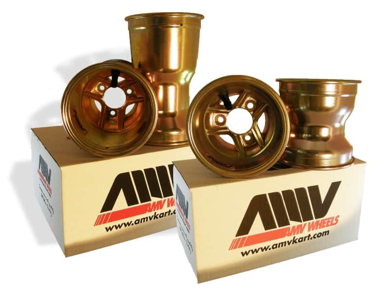 SET WHEELS 130/212 TIGER MAGNESIUM GOLD